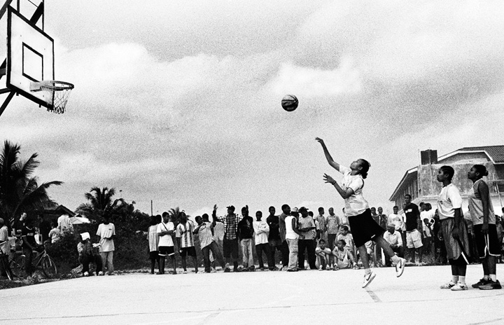 Christopher Coles - Zanzibar women's basketball