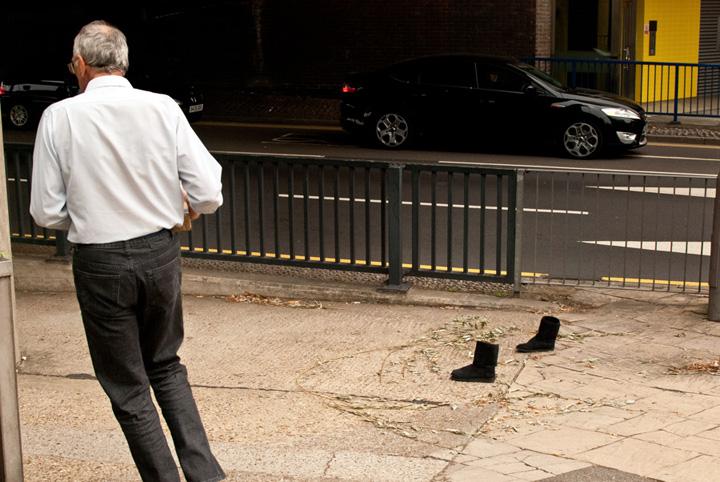 Hugh Look - Leaving the scene of the crime