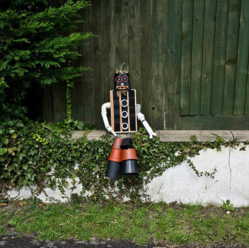 Haslingfield Scarecrow Festival by Brian David Stevens