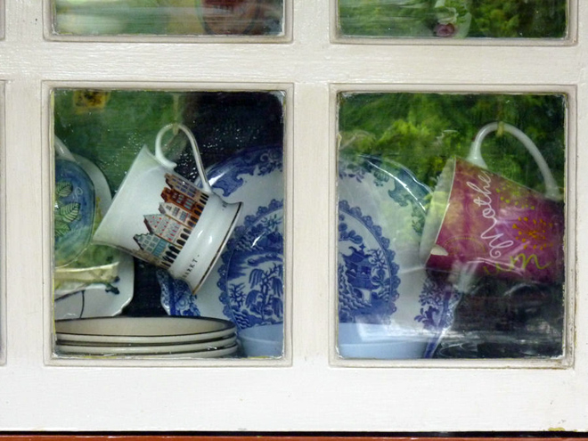 Cups and plates and memories by Eva Turrell