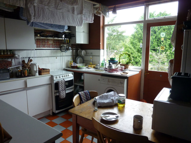 The kitchen by Eva Turrell
