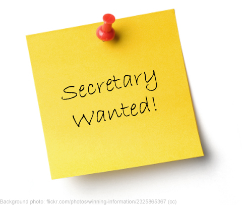 Secretary wanted