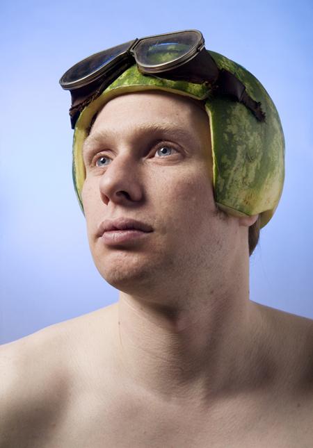 Melon pilot by Astrid Schulz