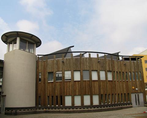 Millennium Primary School. Greenwich. London. UK. Edward Cullinan Architects. 2001.